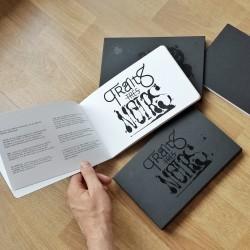 TRAITS TRES NOIRS (1er livre d'illustrations en noir et blanc)